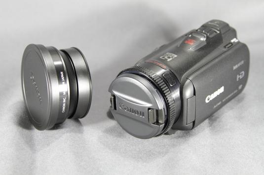 HF G10ワイコンと並び